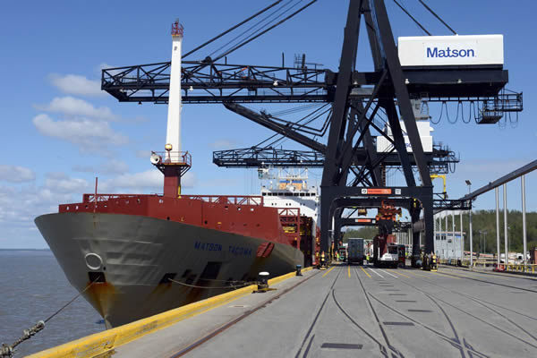 Alaska acquisitions, upgrades exceed $700 million for shipper Matson