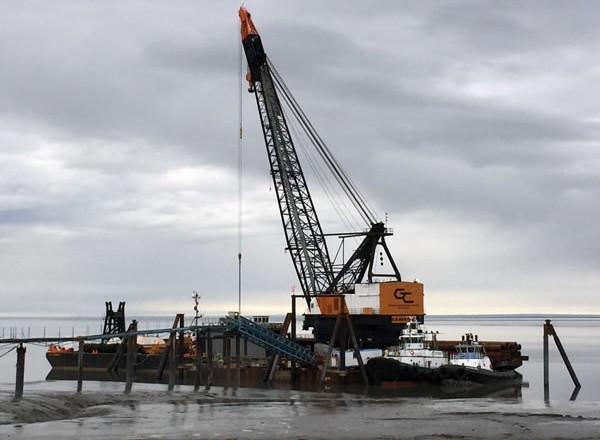 Test Pile Program Construction Update: April 25, 2016