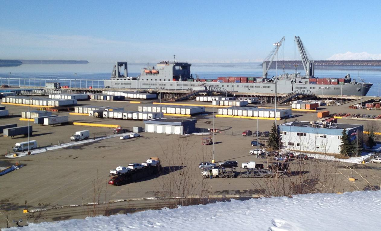 Port of Anchorage cargo update