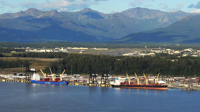 Earthquake Shakes Port of Anchorage