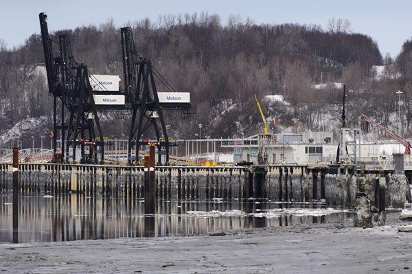 $25 million for port Fed grant helps fund petroleum, cement dock, but tariff increases remain