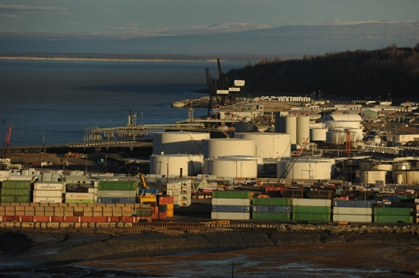One contractor in Anchorage's lawsuit over port settles for $5.5 million