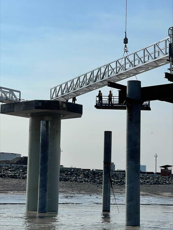 Port terminal project to open by year-end