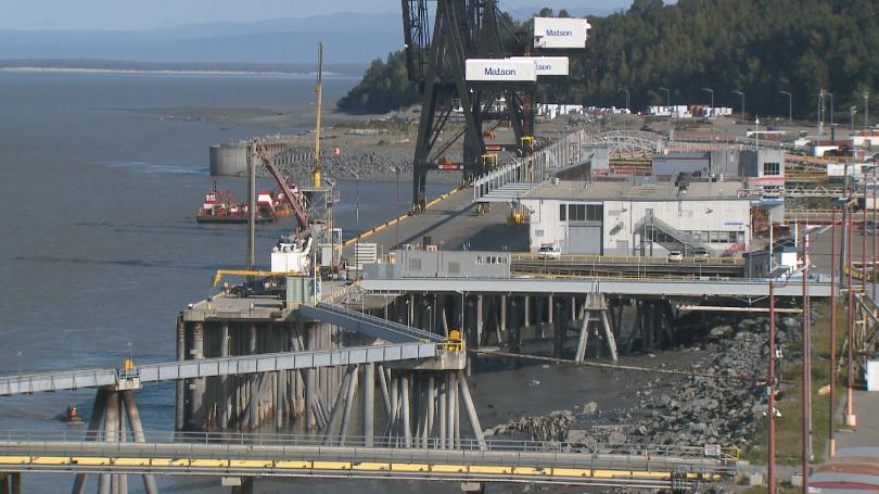 No, the Port of Alaska is not closing for 2 weeks
